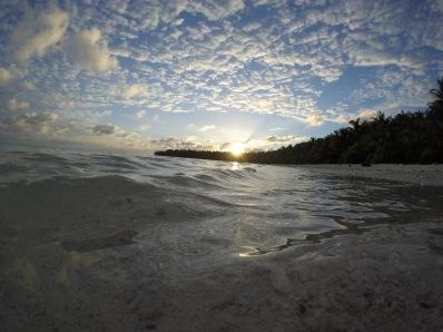 Sunrise at North Beach. Photo by Dana Morton.